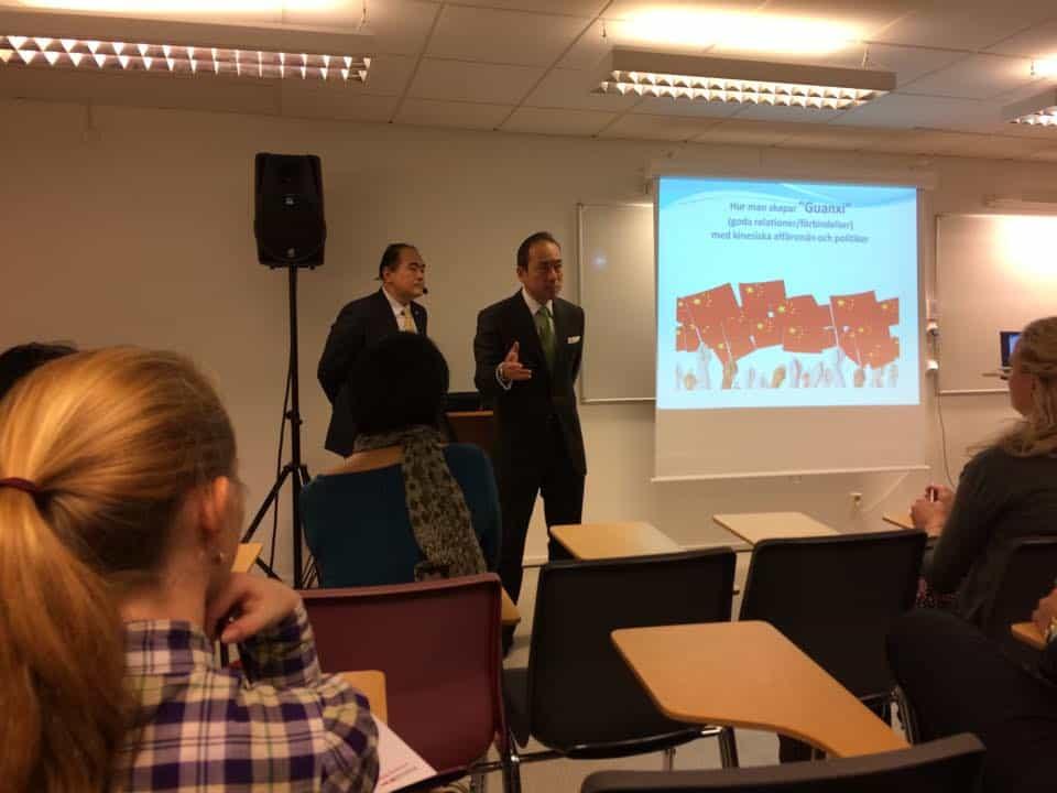 Kina Seminarie med svensk kinesiska förening i Göteborg nov 2014