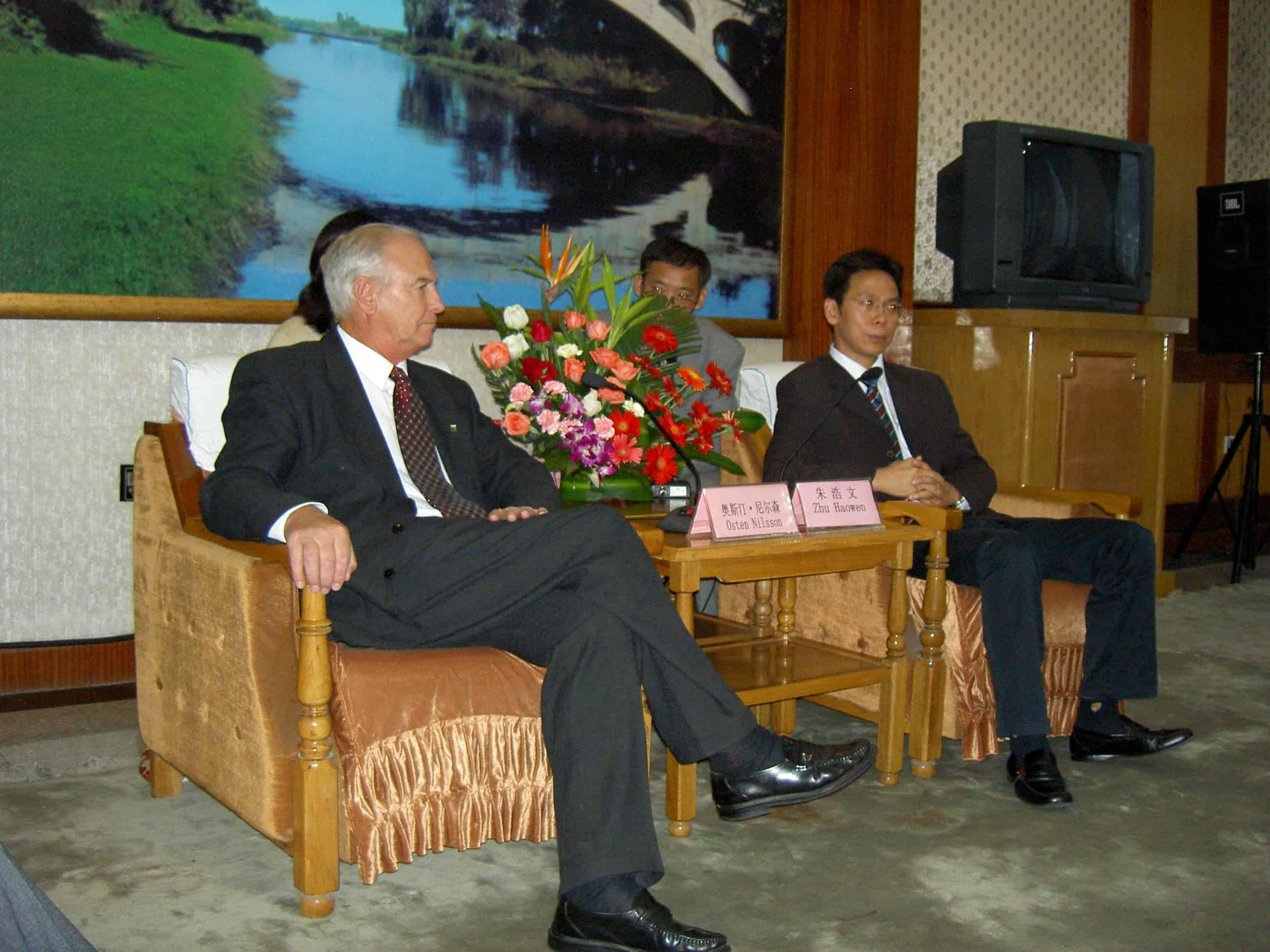 Falkenbergs officiella besök i vänskapsstaden Shijiazhuang sep 2006