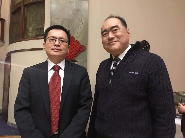SCCC nyår 2019 General konsul Gu Hui